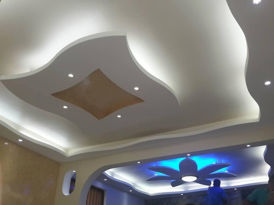 Remodelaci n de ambiente for Decoracion de techos de salas